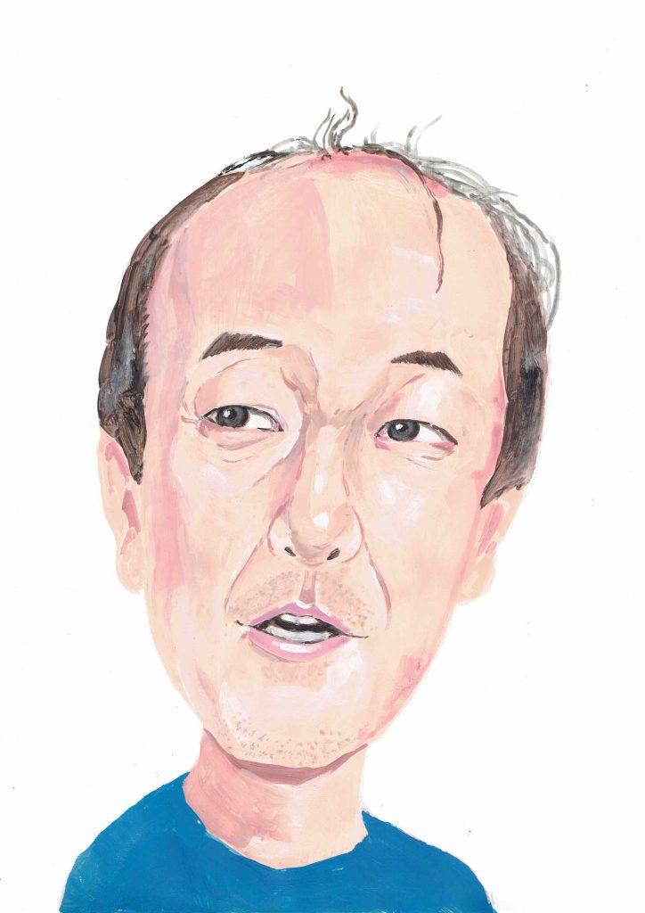 portrait instaillustration dailyart イラスト イラストレーター · ドローイング アート ·  アーティスト 絵 fujibooks